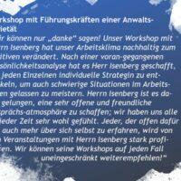 Workshop Anwälte